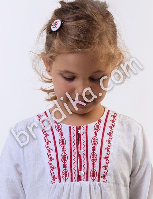 """Детска блуза """"Бисера"""" 1"""