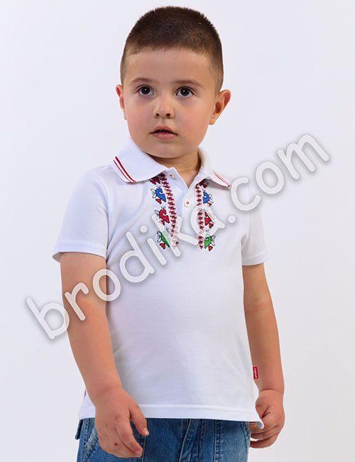 Детска блуза с бродерия