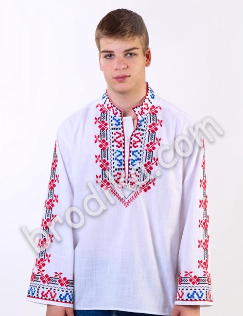 Мъжка шопска риза