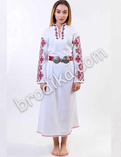 "Дамска дълга шопска риза ""Гайтана"" 4"