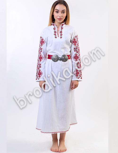 "Дамска дълга шопска риза ""Гайтана"" 1"