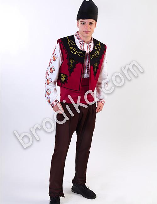 """Мъжки тракийски елек """"Будимир"""" 1"""