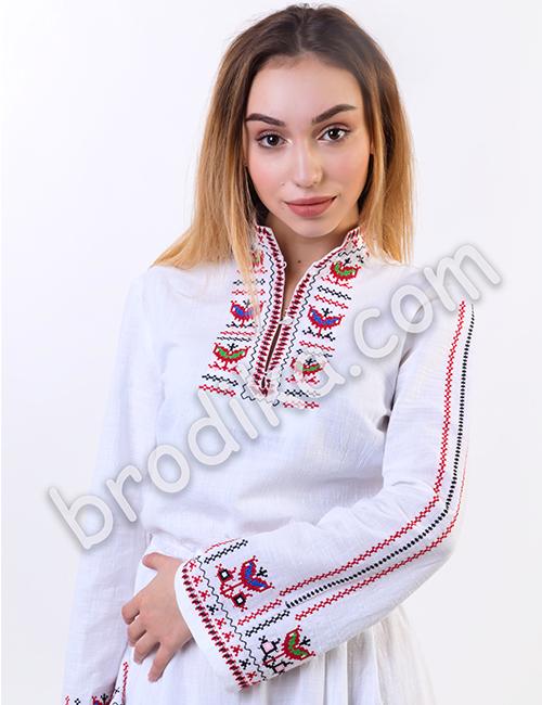 """Дамска дълга северняшка риза """"Сърмена"""" 5"""
