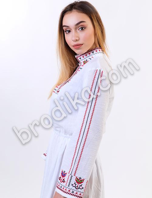 """Дамска дълга северняшка риза """"Сърмена"""" 2"""