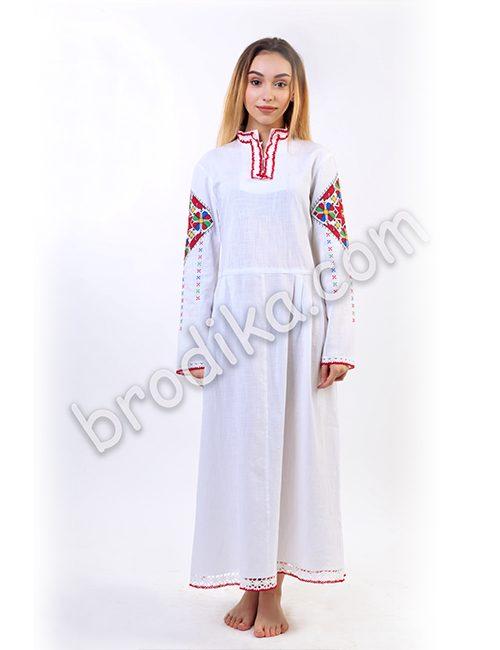 """Дамска дълга шопска риза с дантела """"Щедра"""" 5"""