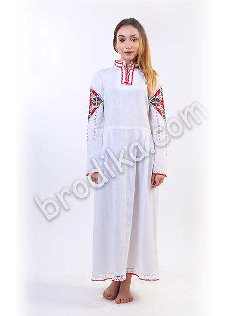 """Дамска дълга шопска риза с дантела """"Щедра"""" 4"""