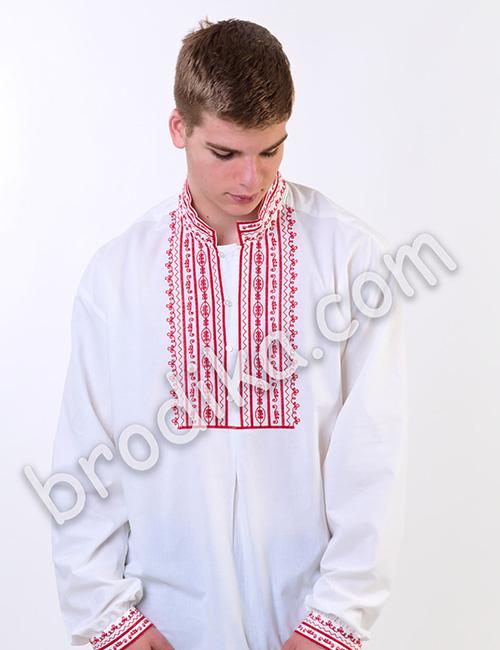 """Мъжка родопска риза """"Орфей"""" 1"""