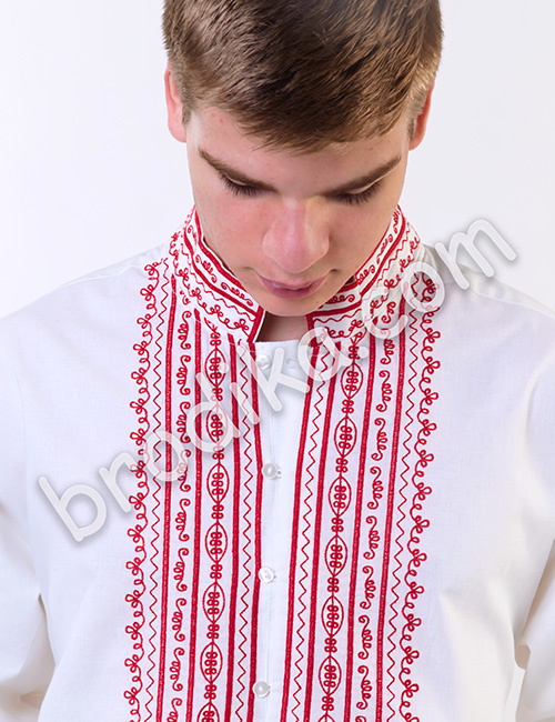 """Мъжка родопска риза """"Орфей"""" 2"""