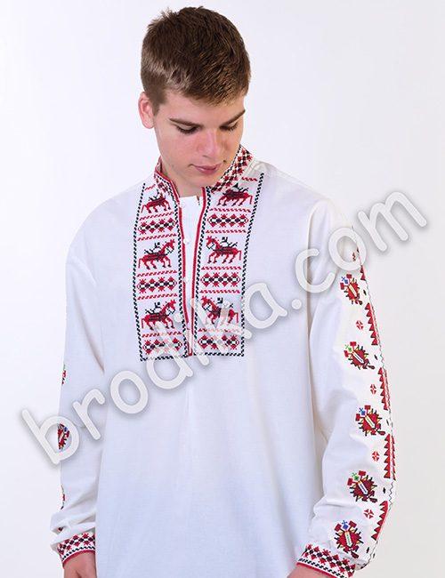 """Мъжка тракийска риза """"Вихър"""" 3"""