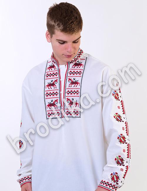 """Мъжка тракийска риза """"Вихър"""" 1"""