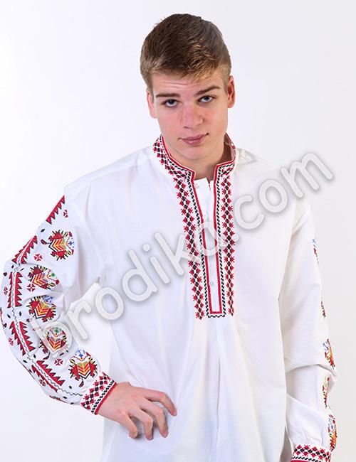 Мъжка тракийска риза