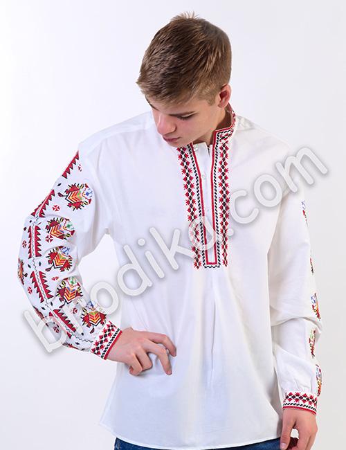 """Мъжка тракийска риза """"Преслав"""" 4"""