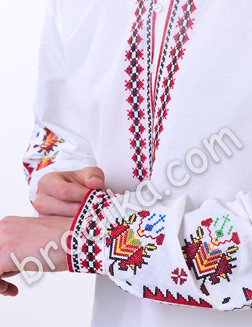 """Мъжка тракийска риза """"Преслав"""" 2"""
