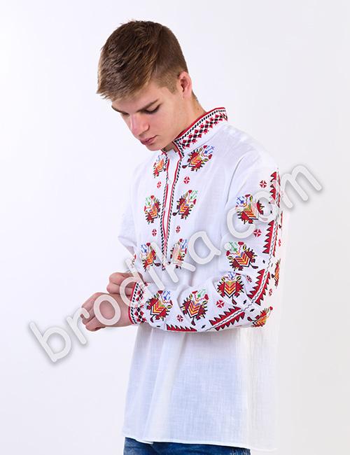 """Мъжка тракийска риза """"Радослав"""" 3"""