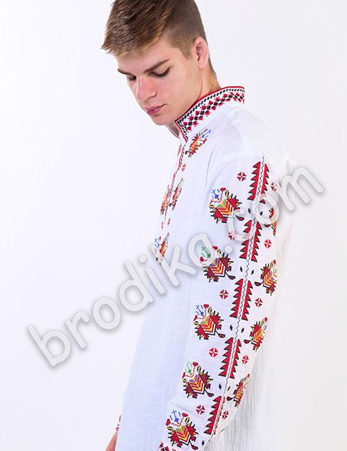 """Мъжка тракийска риза """"Радослав"""" 2"""