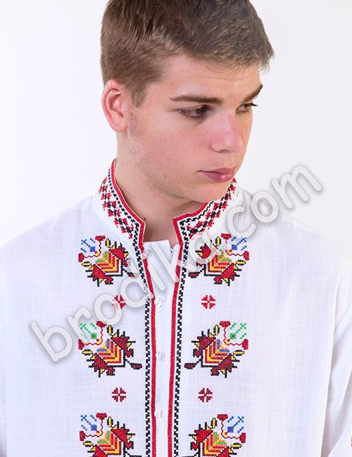 """Мъжка тракийска риза """"Радослав"""" 1"""