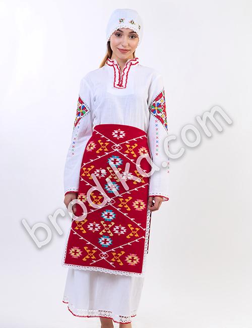 """Дамска пиринска престилка """"Канатица"""""""