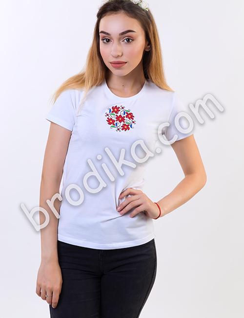 """Дамска тениска с къс ръкав """"Светлозара"""" 1"""