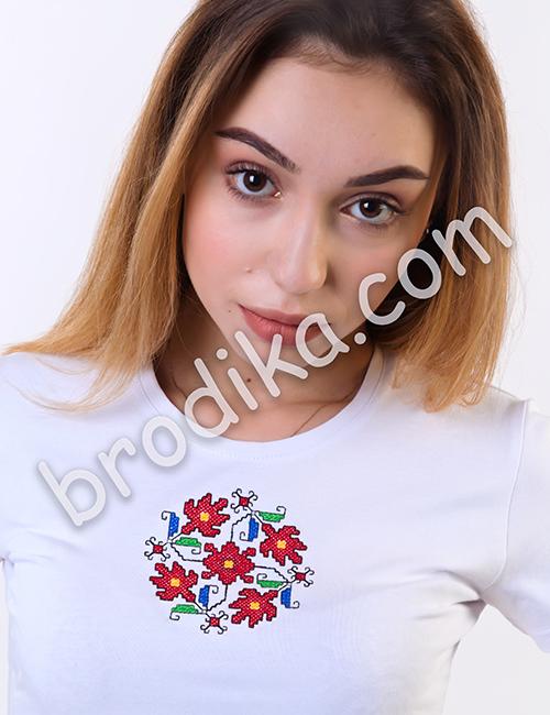 Дамска тениска с къс ръкав
