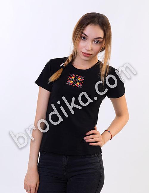 Дамска тениска с къс ръкав 2