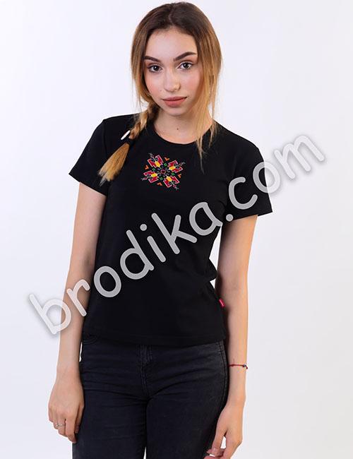 Дамска тениска с къс ръкав 1