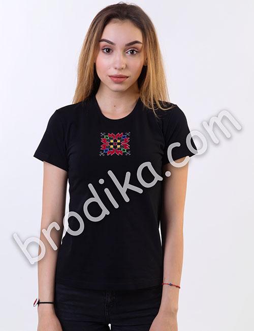"""Дамска тениска с къс ръкав """"Кръстелина"""" 2"""