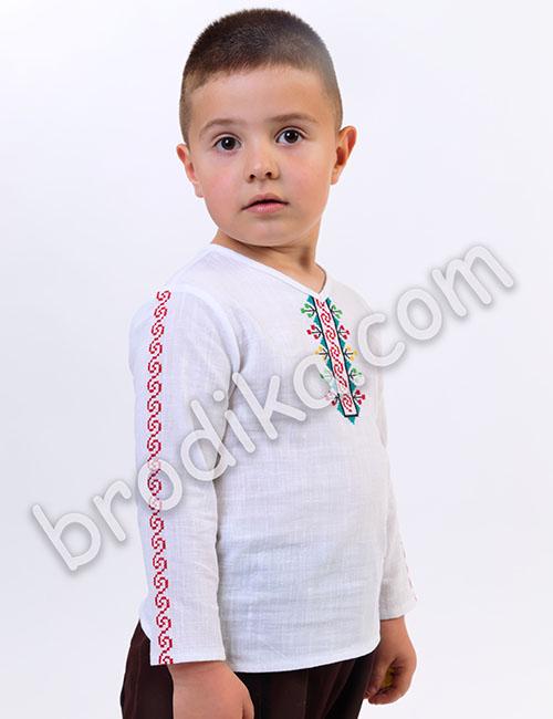 """Детска риза """"Орлин"""" 2"""