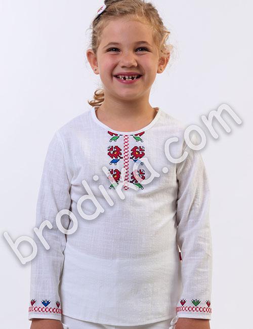 """Детска блуза """"Цвете"""" 3"""