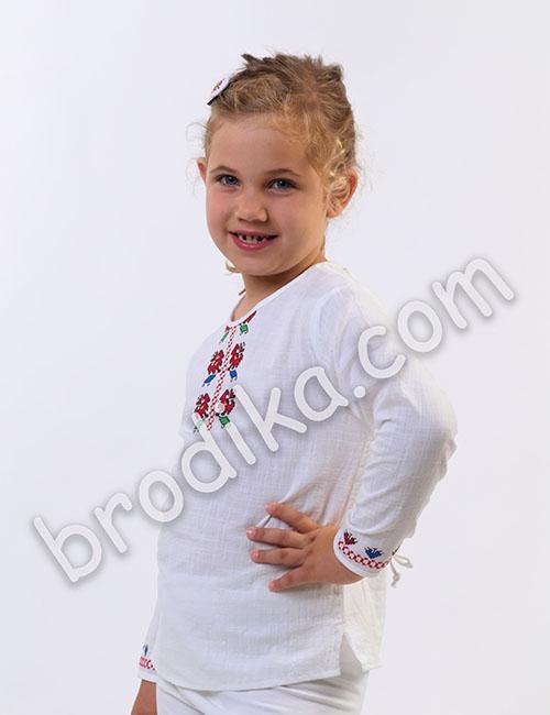 """Детска блуза """"Цвете"""" 2"""