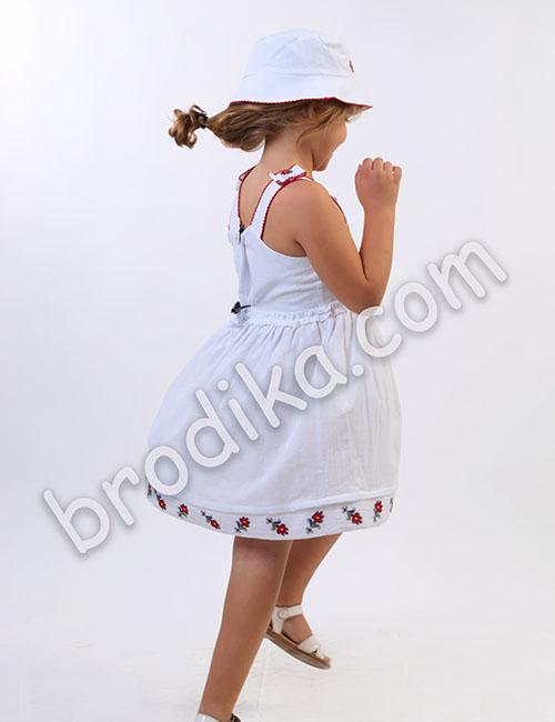 """Детска рокля с презрамки """"Царица"""" 3"""