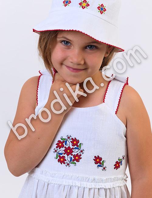 """Детска рокля с презрамки """"Царица"""" 2"""