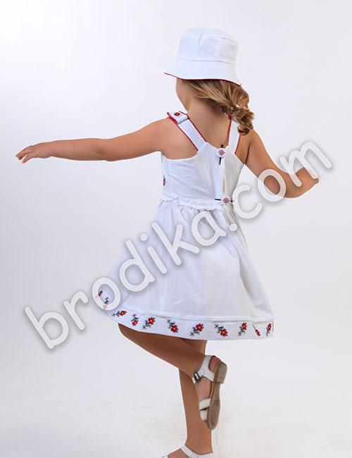 """Детска рокля с презрамки """"Царица"""" 1"""