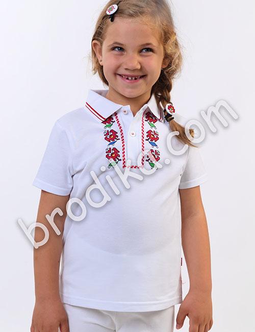 Детска тениска с яка 3