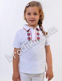Детска тениска с яка