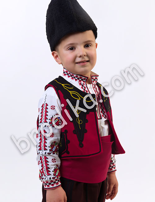 "Детски тракийски елек ""Будимир"" 2"