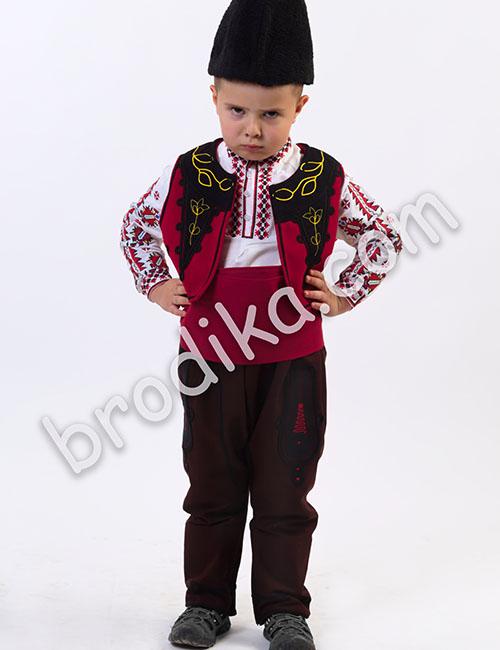 "Детски тракийски елек ""Будимир"" 1"
