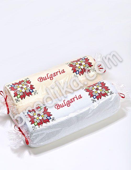 """Хавлиена кърпа 50/80см, Колекция """"Магията на шевиците"""""""