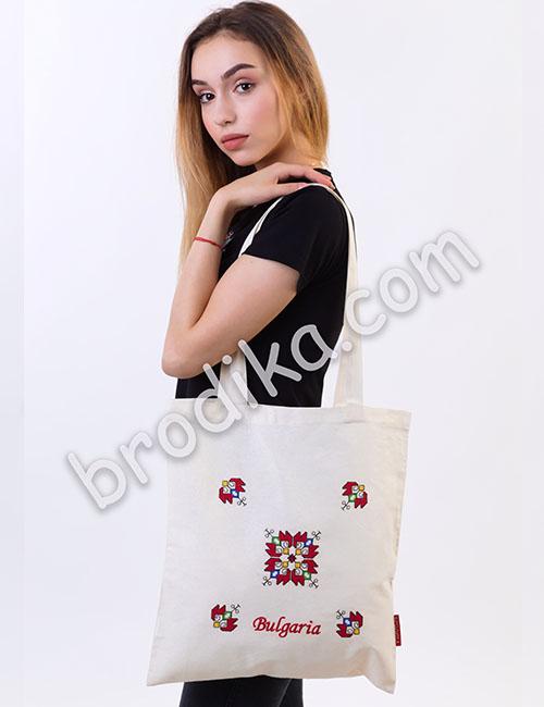"Текстилна чанта ""Елбетица"" 2"