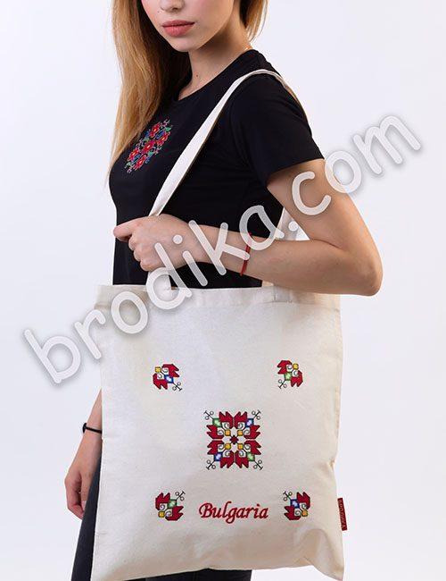 "Текстилна чанта ""Елбетица"""