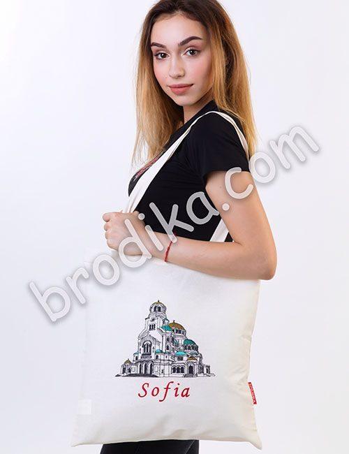 """Текстилна чанта """"Александър Невски"""""""
