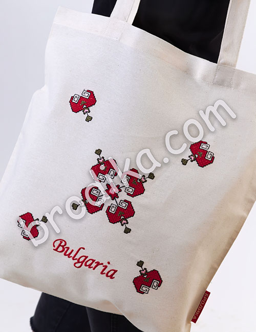 """Текстилна чанта """"Шопска свиленица"""" 1"""
