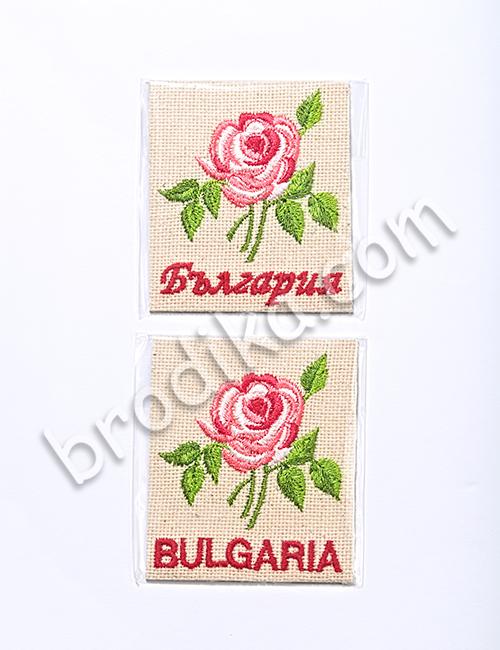 """Бродиран магнит от Колекция """"С аромат на рози"""" 2"""