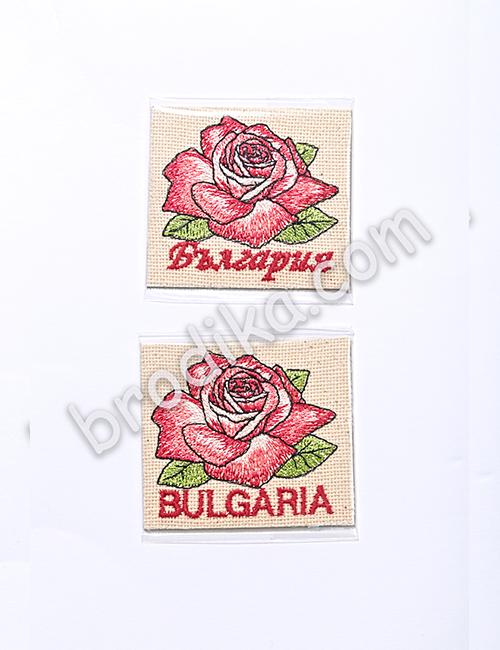 """Бродиран магнит от Колекция """"С аромат на рози"""""""