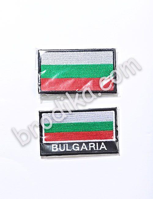 Бродирaно знаме BULGARIA