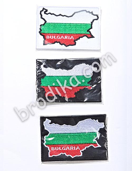 Бродирано знаме BULGARIA
