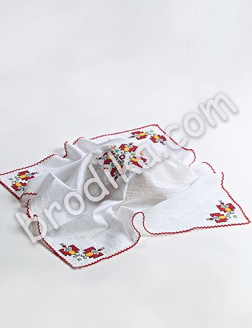 Кърпа за погача - месал 2