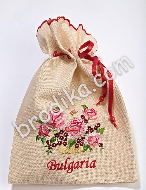 """Подаръчна торбичка от Колекция """"С аромат на рози"""""""