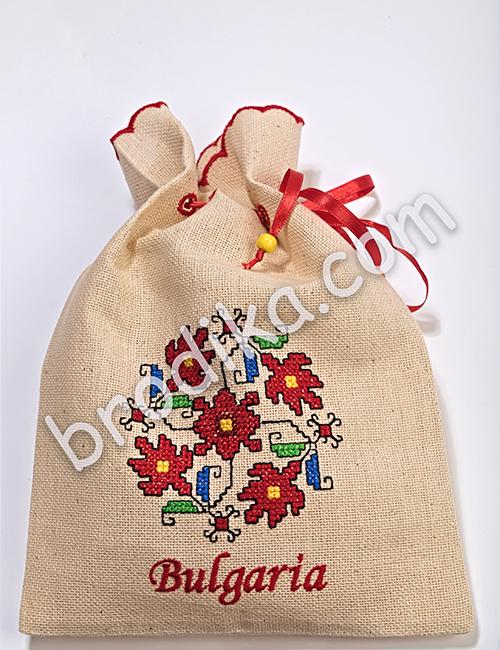 """Подаръчна торбичка от Колекция """"Магията на шевиците"""""""