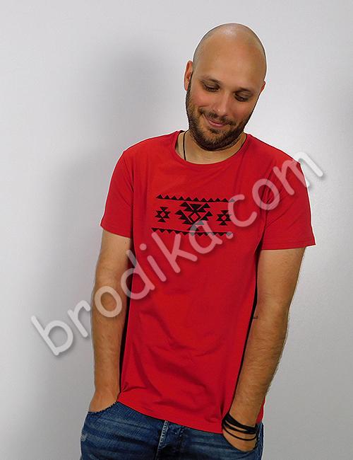 """Мъжка тениска """"На крилете на Канатицата"""" 3"""