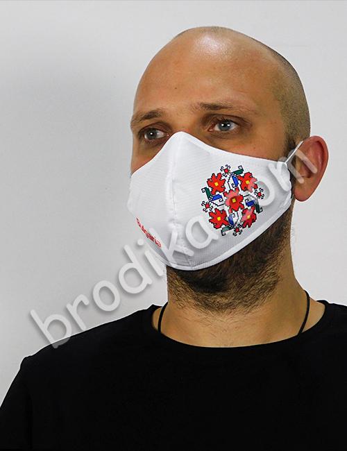 """Трислойна предпазна маска за лице """"Кръговрат на живота"""" 3"""